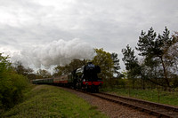 Bluebell Railway -  Flying  Scotsman 14th April 2017